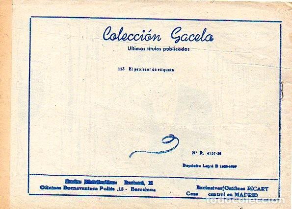 Tebeos: Colección Gacela nº 114 - Foto 2 - 156635850