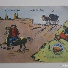Tebeos: EXCLUSIVAS GRÁFICAS RICART - EL BUHONERO Nº 33 . Lote 156657258