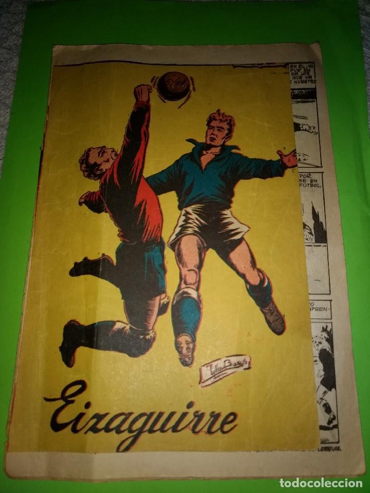 ASES DEL DEPORTE JUGADOR EIZAGUIRRE ORIGINAL AÑOS 50-60 . EDITORIAL RICART. (Tebeos y Comics - Ricart - Otros)