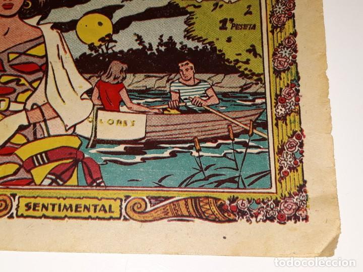 Tebeos: ANTIGUO COMIC COLECCION SENTIMENTAL - CUENTOS PARA NIÑAS Nº 192 - LA NUEVA RICA - ED. RICART AÑOS 50 - Foto 2 - 157817474