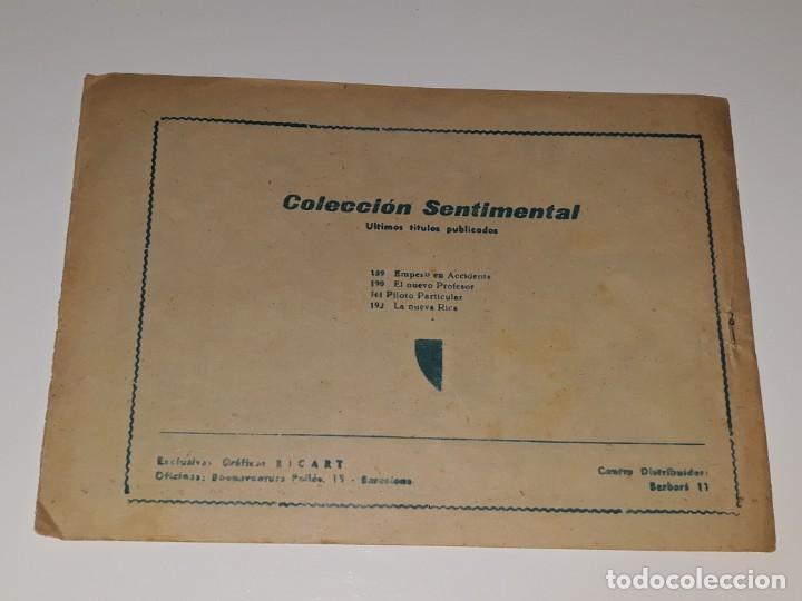 Tebeos: ANTIGUO COMIC COLECCION SENTIMENTAL - CUENTOS PARA NIÑAS Nº 192 - LA NUEVA RICA - ED. RICART AÑOS 50 - Foto 3 - 157817474