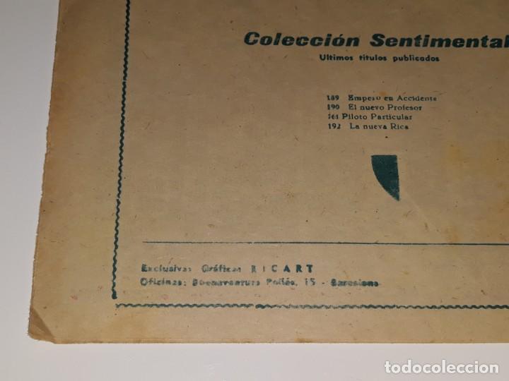 Tebeos: ANTIGUO COMIC COLECCION SENTIMENTAL - CUENTOS PARA NIÑAS Nº 192 - LA NUEVA RICA - ED. RICART AÑOS 50 - Foto 4 - 157817474