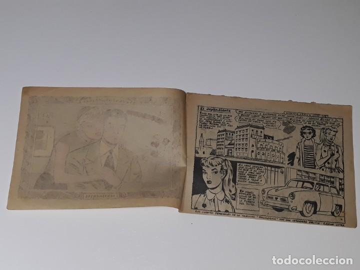 Tebeos: COMIC COLECCION SENTIMENTAL - CUENTOS PARA NIÑAS Nº199 - EL DEPENDIENTE - ED. RICART AÑOS 50 - Foto 3 - 158008162