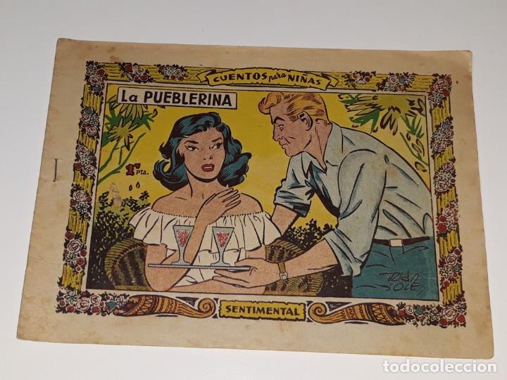 COMIC COLECCION SENTIMENTAL - CUENTOS PARA NIÑAS Nº 200 - LA PUEBLERINA - ED. RICART AÑOS 50 (Tebeos y Comics - Ricart - Sentimental)