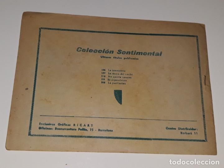 Tebeos: COMIC COLECCION SENTIMENTAL - CUENTOS PARA NIÑAS Nº 200 - LA PUEBLERINA - ED. RICART AÑOS 50 - Foto 2 - 158008522