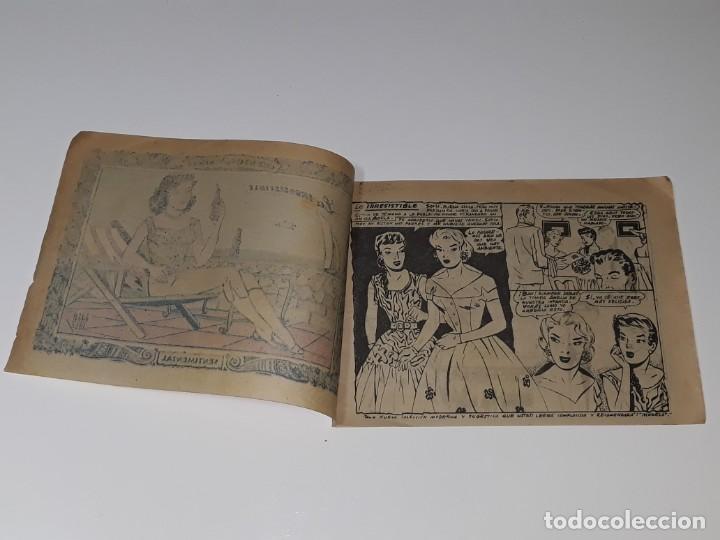 Tebeos: COMIC COLECCION SENTIMENTAL - CUENTOS PARA NIÑAS Nº 196 - LA IRRESISTIBLE - ED. RICART AÑOS 50 - Foto 3 - 158008598