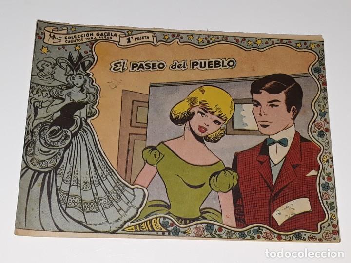 ANTIGUO COMIC COLECCION GACELA Nº 111 - EL PASEO DEL PUEBLO - ED. RICART AÑOS 50 (Tebeos y Comics - Ricart - Gacela)