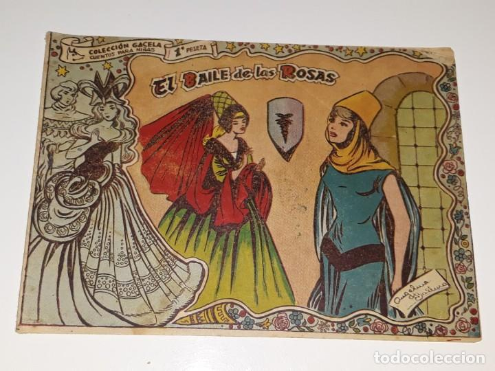 ANTIGUO COMIC COLECCION GACELA Nº 107 - EL BAILE DE LAS ROSAS - ED. RICART AÑOS 50 (Tebeos y Comics - Ricart - Gacela)