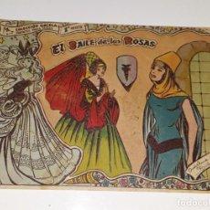 Tebeos: ANTIGUO COMIC COLECCION GACELA Nº 107 - EL BAILE DE LAS ROSAS - ED. RICART AÑOS 50. Lote 158018318