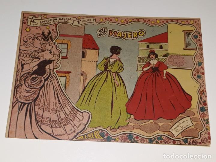 ANTIGUO COMIC COLECCION GACELA Nº 113 - EL VIAJERO - ED. RICART AÑOS 50 (Tebeos y Comics - Ricart - Gacela)