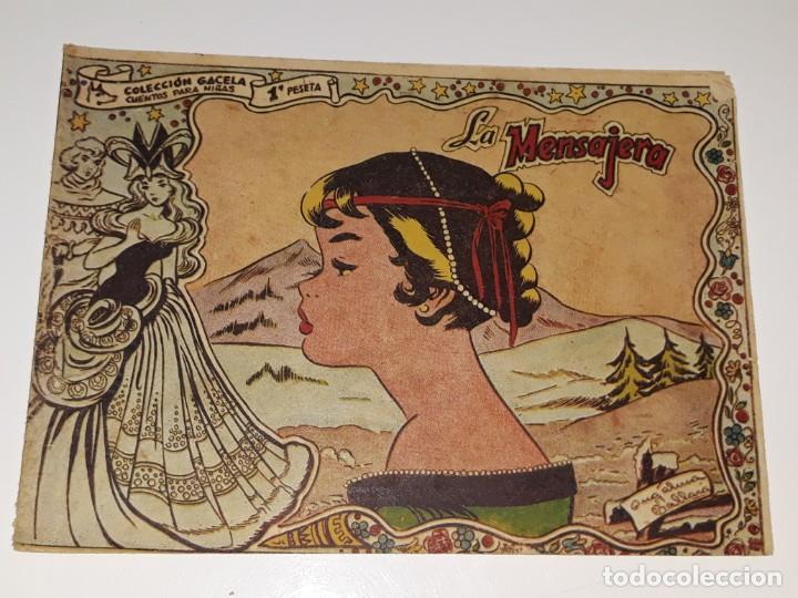 ANTIGUO COMIC COLECCION GACELA Nº 104 - LA MENSAJERA - ED. RICART AÑOS 50 (Tebeos y Comics - Ricart - Gacela)