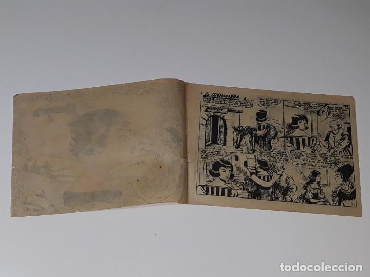 Tebeos: ANTIGUO COMIC COLECCION GACELA Nº 104 - LA MENSAJERA - ED. RICART AÑOS 50 - Foto 4 - 158018806