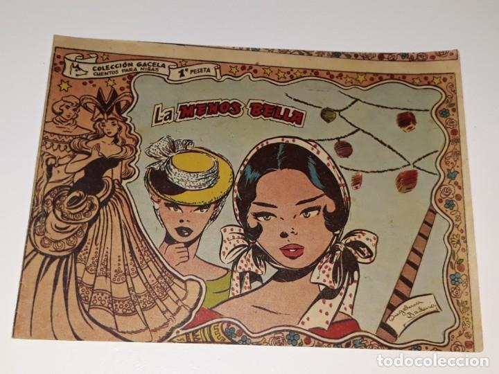 ANTIGUO COMIC COLECCION GACELA Nº 106 - LA MENOS BELLA - ED. RICART AÑOS 50 (Tebeos y Comics - Ricart - Gacela)