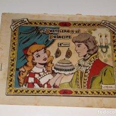 Tebeos: ANTIGUO COMIC COLECCION GOLONDRINA Nº 39 - LA PASTELERA Y EL PRINCIPE - ED. RICART AÑOS 50. Lote 158197674