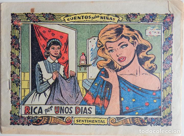 COLECCIÓN SENTIMENTAL - RICA POR UNOS DIAS (Tebeos y Comics - Ricart - Sentimental)