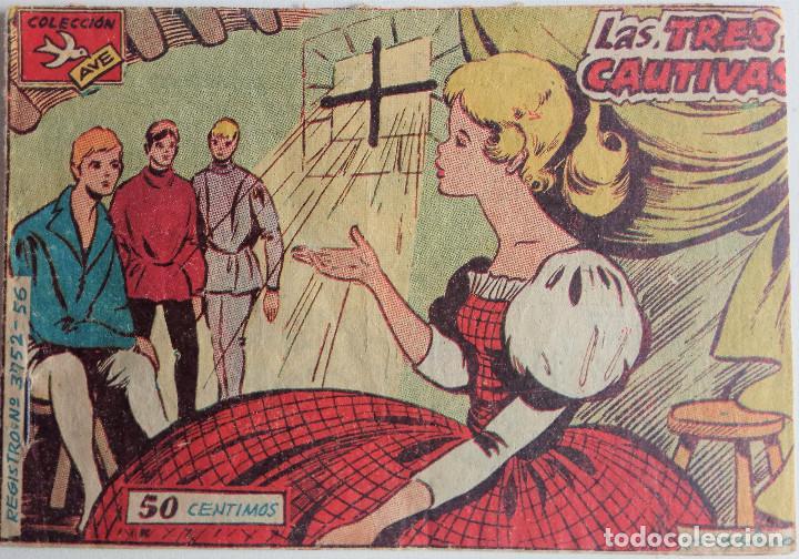 COLECCIÓN AVE Nº 3752- 56 - LAS TRES CAUTIVAS (Tebeos y Comics - Ricart - Ave)