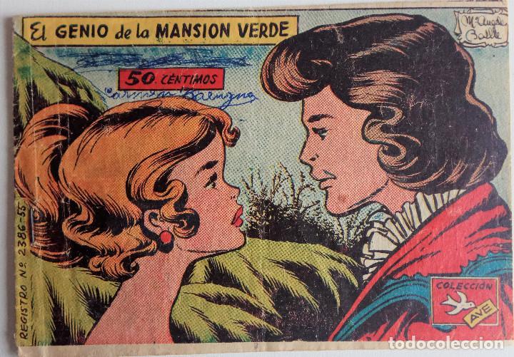 COLECCIÓN AVE Nº 2386-55 - EL GENIO DE LA MANSIÓN VERDE (Tebeos y Comics - Ricart - Ave)