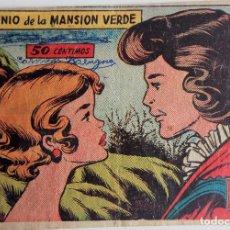 Tebeos: COLECCIÓN AVE Nº 2386-55 - EL GENIO DE LA MANSIÓN VERDE. Lote 158236482