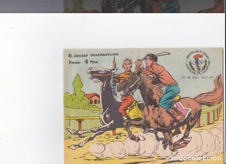 EL JOCKEY DESAPARECIDO-AVENTURAS DEPORTIVAS (Tebeos y Comics - Ricart - Aventuras Deportivas)