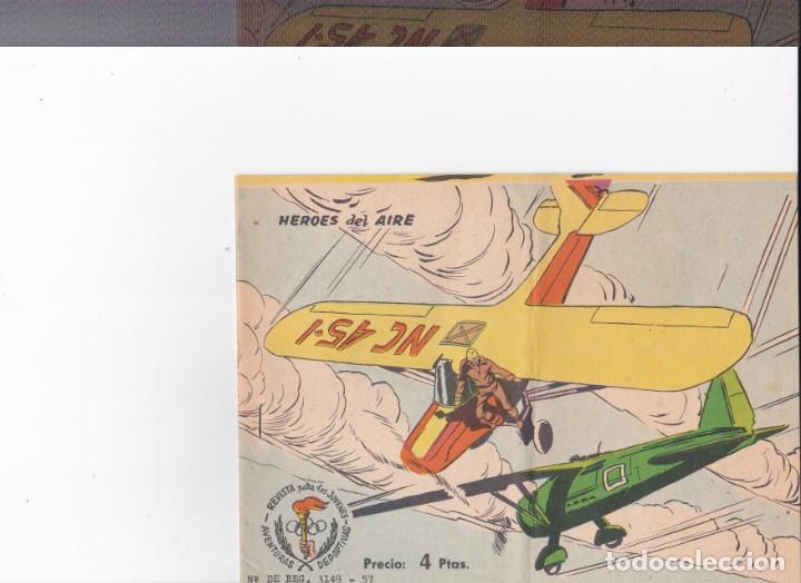 HEROES DEL AIRE-AVENTURAS DEPORTIVAS (Tebeos y Comics - Ricart - Aventuras Deportivas)