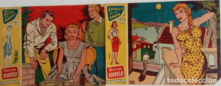COLECCIÓN MODELO Nº 15, 34 - ENCUENTRO EN EL CAMPO Y UNA CHICA EN APUROS (Tebeos y Comics - Ricart - Modelo)