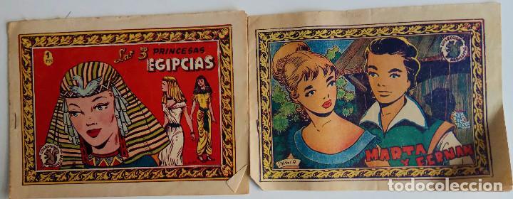 COLECCIÓN ARDILLA - MARTA Y FERNAN Y LAS 3 PRINCESAS EGIPCIAS (Tebeos y Comics - Ricart - Otros)