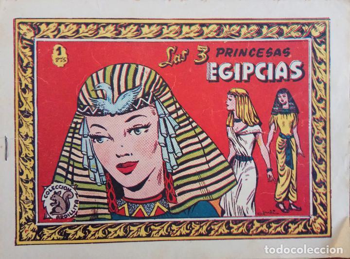 Tebeos: COLECCIÓN ARDILLA - MARTA Y FERNAN Y LAS 3 PRINCESAS EGIPCIAS - Foto 3 - 172983510
