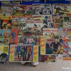 BDs: LOTE DE COMICS PANTERA NEGRA EL JABATO FLECHA Y ARTURO MOBY DICK JERONIMO ORLANDO AFRICA JORGA. Lote 161180938
