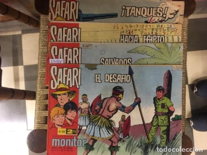 LOTE DE 4 COMICS SAFARI, REVISTA PARA JOVENES, AÑO VI, NUMS. 216, 217, 218 Y 237 (Tebeos y Comics - Ricart - Safari)
