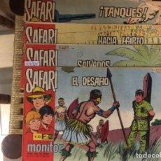 Tebeos: LOTE DE 4 COMICS SAFARI, REVISTA PARA JOVENES, AÑO VI, NUMS. 216, 217, 218 Y 237. Lote 163399614