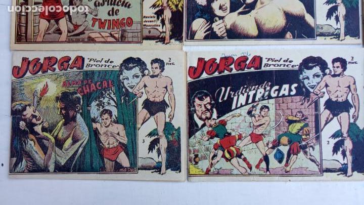 Tebeos: JORGA PIEL DE BRONCE ORIGINAL 1963 - 1,2,3,4,6,9,10,11,16,17 MUY BIEN CONSERVADOS - Foto 3 - 163764454