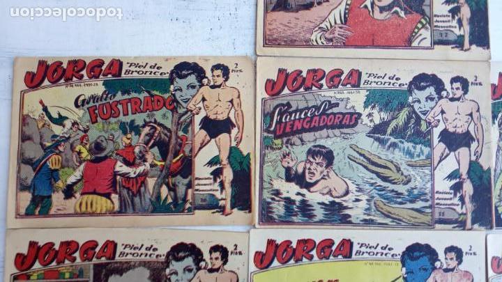 Tebeos: JORGA PIEL DE BRONCE ORIGINAL 1963 - 1,2,3,4,6,9,10,11,16,17 MUY BIEN CONSERVADOS - Foto 5 - 163764454