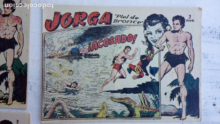 Tebeos: JORGA PIEL DE BRONCE ORIGINAL 1963 - 1,2,3,4,6,9,10,11,16,17 MUY BIEN CONSERVADOS - Foto 7 - 163764454