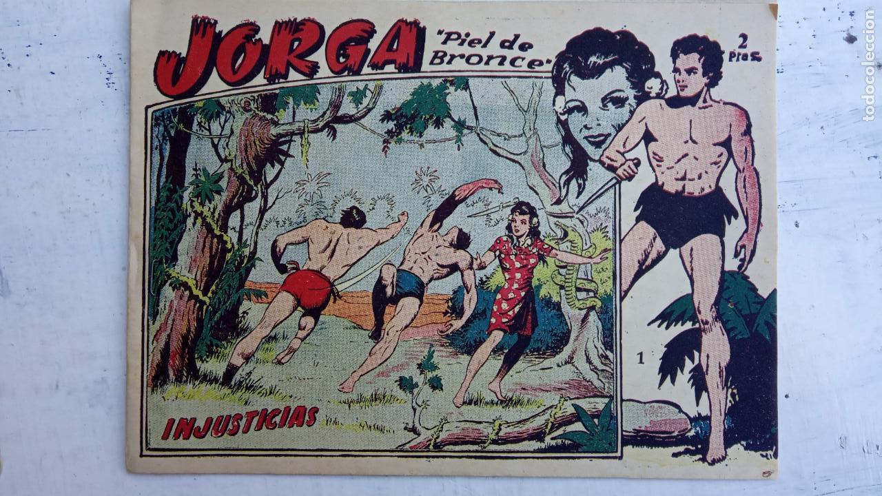 Tebeos: JORGA PIEL DE BRONCE ORIGINAL 1963 - 1,2,3,4,6,9,10,11,16,17 MUY BIEN CONSERVADOS - Foto 8 - 163764454