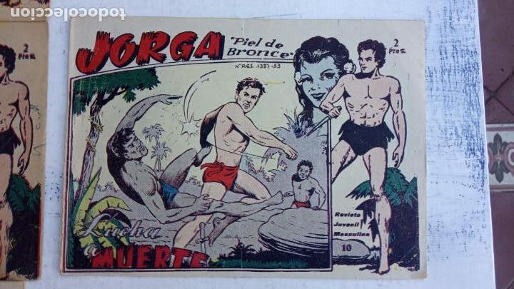 Tebeos: JORGA PIEL DE BRONCE ORIGINAL 1963 - 1,2,3,4,6,9,10,11,16,17 MUY BIEN CONSERVADOS - Foto 10 - 163764454