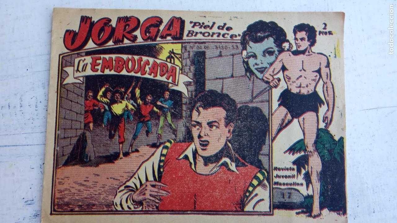 Tebeos: JORGA PIEL DE BRONCE ORIGINAL 1963 - 1,2,3,4,6,9,10,11,16,17 MUY BIEN CONSERVADOS - Foto 11 - 163764454