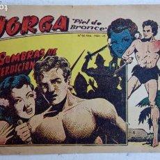Tebeos: JORGA PIEL DE BRONCE ORIGINAL 1963 - Nº 6. Lote 163765086