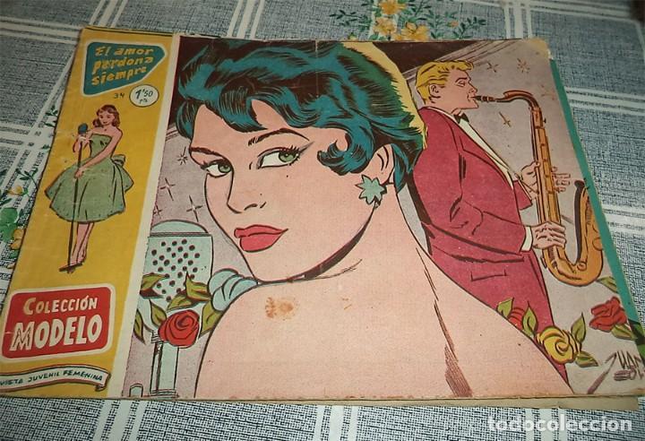 RICART COLECCION MODELO N.º 34 EL AMOR PERDONA SIEMPRE (Tebeos y Comics - Ricart - Sentimental)