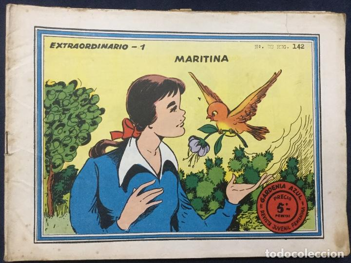 GARDENIA AZUL EXTRAORDINARIO 6 COMICS (Tebeos y Comics - Ricart - Otros)