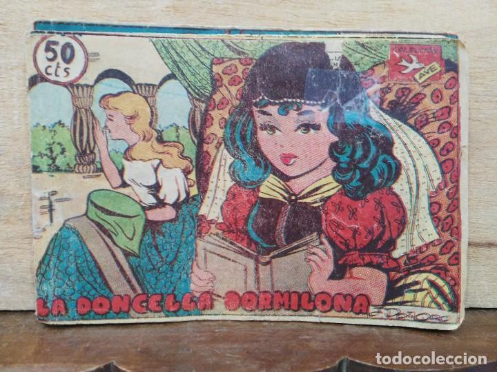 COLECCIÓN AVE - Nº 360, LA DONCELLA DORMILONA - ED. RICART (Tebeos y Comics - Ricart - Ave)