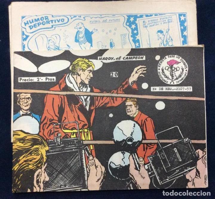 Tebeos: AVENTURAS DEPORTIVAS 6 comics - Foto 3 - 166127058