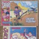 Tebeos: SAFARI Nº 8 (RICART 1965) Y SAFARI Nº 68 (IBEROMUNDIAL 1.967). Lote 131545742