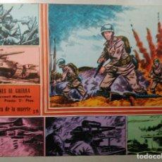 Livros de Banda Desenhada: CÓMIC - SELECCIONES DE GUERRA N° 18 - ED. RICART. FOTO CLUB FÚTBOL BURGOS. EXCELENTE. Lote 168043240