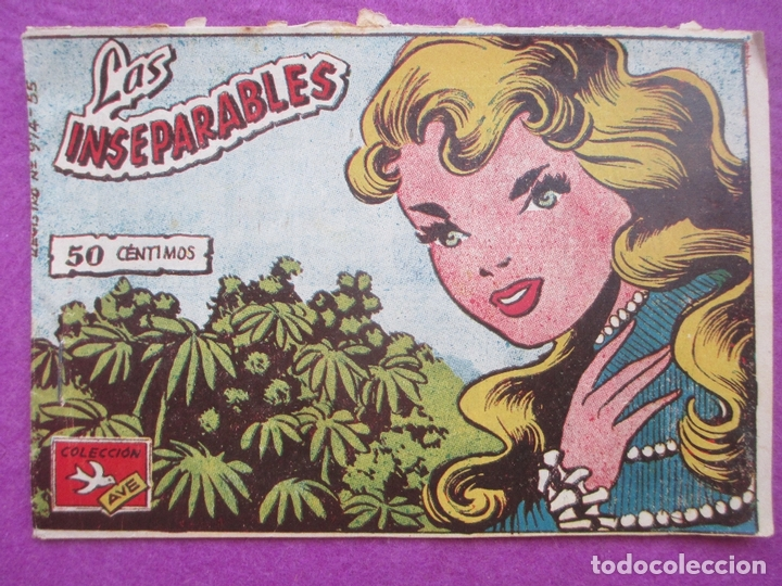 TEBEO LAS INSEPARABLES, COLECCION AVE, ED. RICART, Nº 167 (Tebeos y Comics - Ricart - Ave)