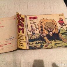 Tebeos: SAFARI Nº6. A LA CAZA DE FIERAS .RICART 1963. ORIGINAL. Lote 168607496