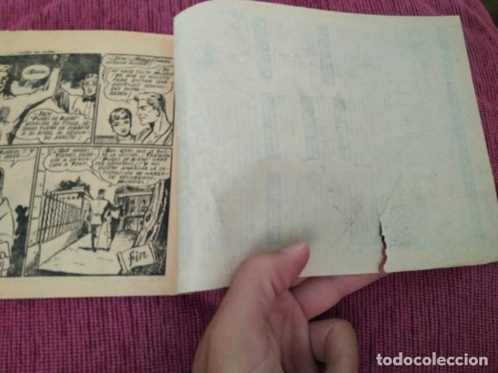 Tebeos: Raro. N°1 Puños de acero. Aventuras deportivas. Del Arbol, 1957. - Foto 7 - 169802656