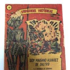 Tebeos: COMIC ORIGINAL EFEMERIDES HISTORICAS Nº 6 EDITORIAL RICART. Lote 170006060