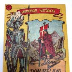 Tebeos: COMIC ORIGINAL EFEMERIDES HISTORICAS Nº 8 EDITORIAL RICART. Lote 170006108