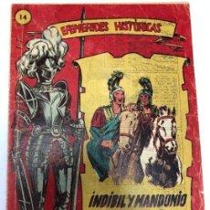 Tebeos: COMIC ORIGINAL EFEMERIDES HISTORICAS Nº 14 EDITORIAL RICART. Lote 170006184