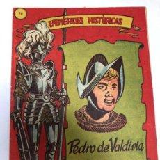 Tebeos: COMIC ORIGINAL EFEMERIDES HISTORICAS Nº 18 EDITORIAL RICART. Lote 170006284